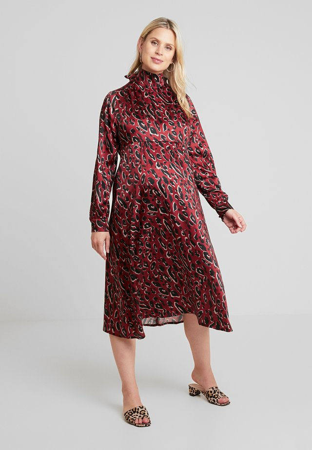 AUDREY - Day dress - red