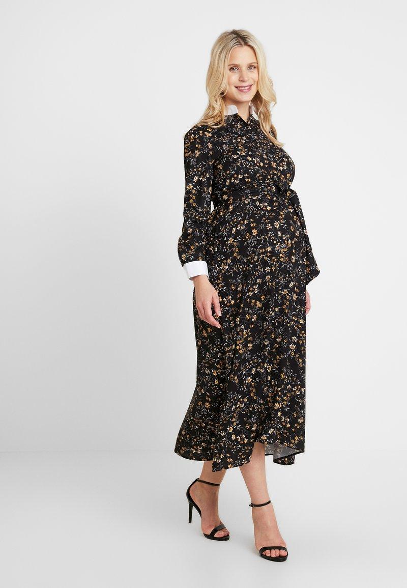 Pietro Brunelli - GLENN - Maxi dress - black