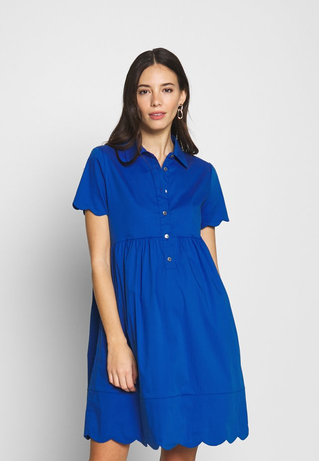 BERNADETTE - Jersey dress - greek azure