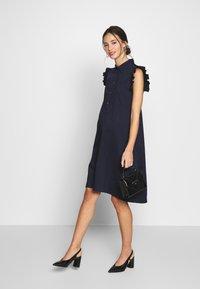 Pietro Brunelli - FLORA - Košilové šaty - dark blue - 1