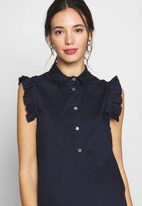 Pietro Brunelli - FLORA - Košilové šaty - dark blue - 4