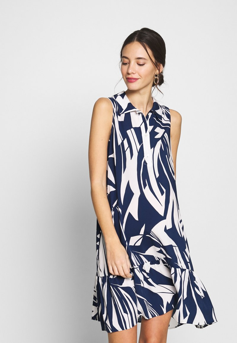 Pietro Brunelli - VITTORIA - Košilové šaty - blue