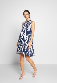 Pietro Brunelli - VITTORIA - Košilové šaty - blue - 1