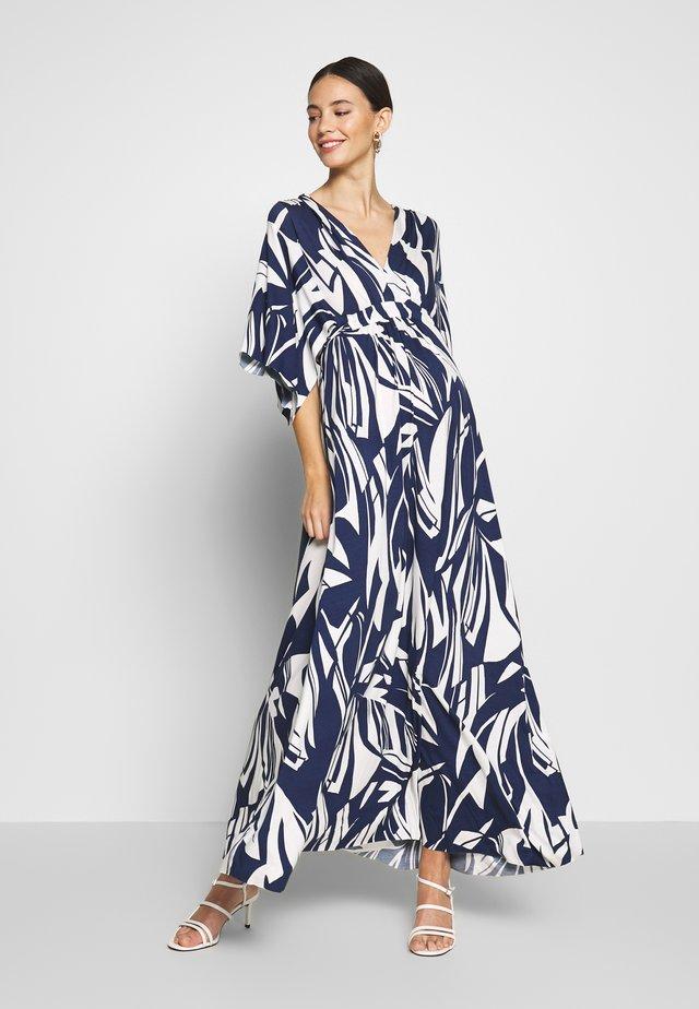 VERONICA - Jersey dress - blue