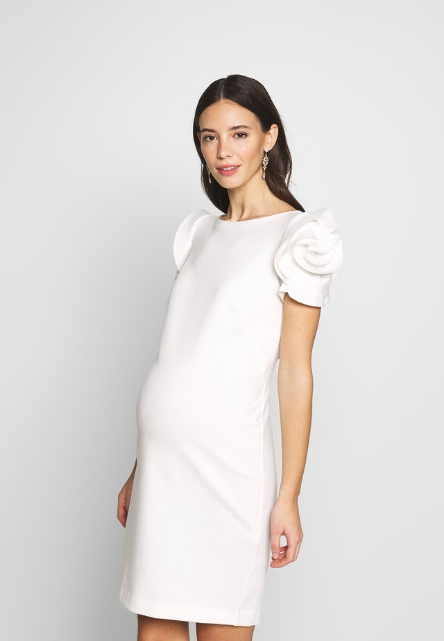 CAPRI - Shift dress - white