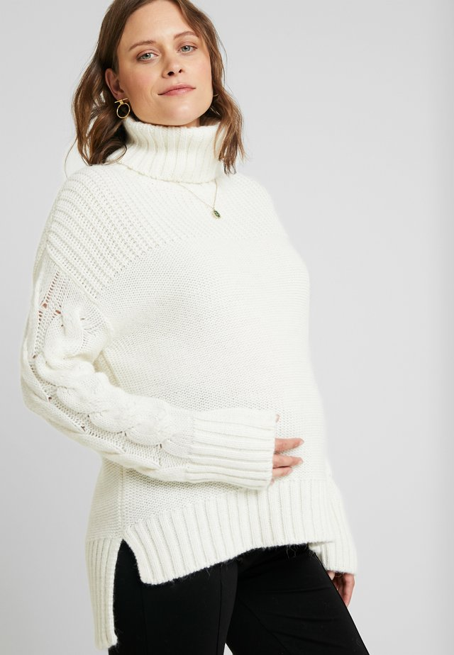 MONT TREMBLANT - Strickpullover - cream white