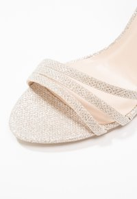 Paradox London Pink - MELODY - Sandalen met hoge hak - gold glitter - 2