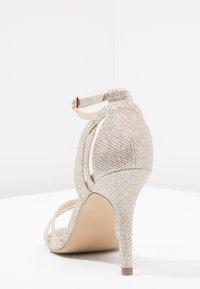 Paradox London Pink - MELODY - Sandalen met hoge hak - gold glitter - 5