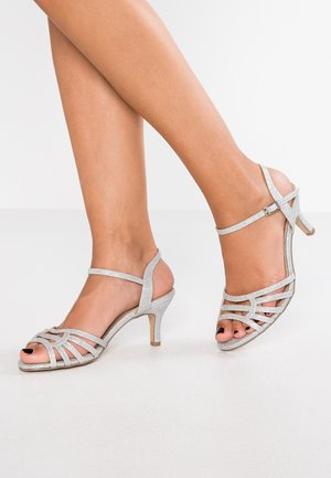 WIDE FIT LAURIE - Sandaler - silver glitter