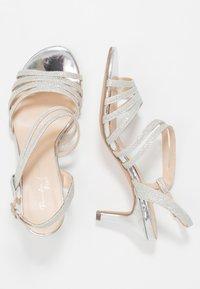 Paradox London Pink - SANIA - Sandaalit nilkkaremmillä - silver - 3