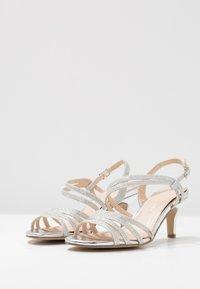 Paradox London Pink - SANIA - Sandaalit nilkkaremmillä - silver - 4