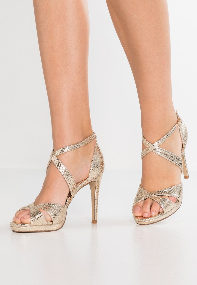 Paradox London Pink - LEVI - High heeled sandals - gold