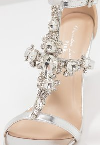 Paradox London Pink - STELLA - High Heel Sandalette - silver metallic - 2