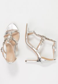 Paradox London Pink - STELLA - High Heel Sandalette - silver metallic - 3