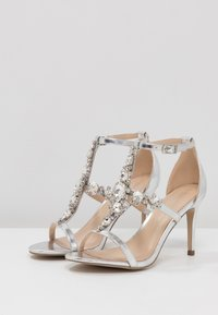 Paradox London Pink - STELLA - High Heel Sandalette - silver metallic - 4