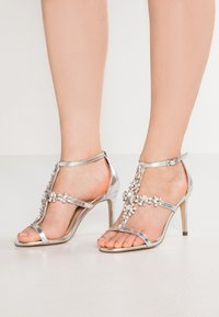 Paradox London Pink - STELLA - High Heel Sandalette - silver metallic - 0