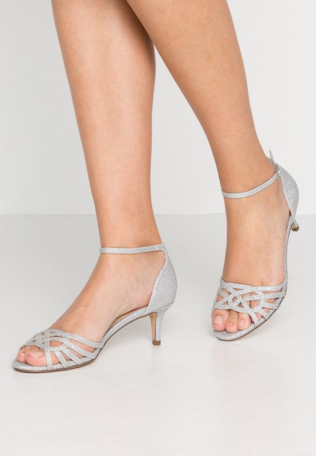 LEAH - Sandals - silver