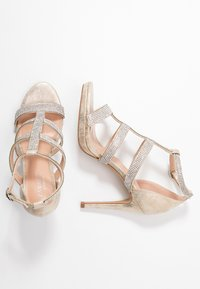 Paradox London Pink - RAVEN - High heeled sandals - champagne - 3