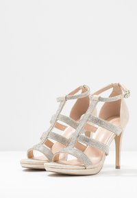 Paradox London Pink - RAVEN - High heeled sandals - champagne - 4