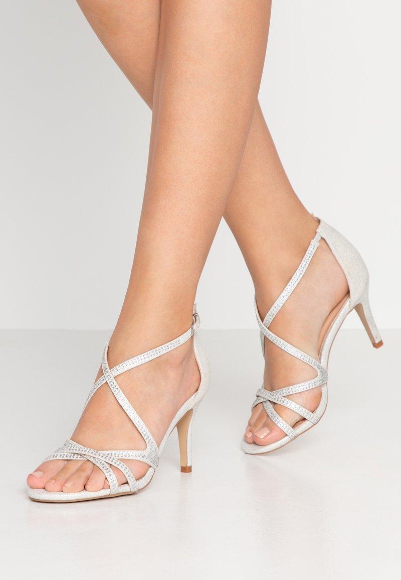 Paradox London Pink - ROMELIA - Sandály na vysokém podpatku - silver
