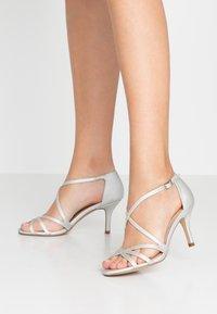 Paradox London Pink - LYDIA - Sandals - silver - 0