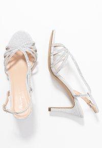 Paradox London Pink - HATTICE - High heeled sandals - silver - 3