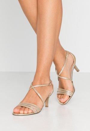 HALIMA - Sandals - champagne