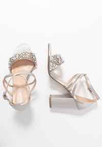 Paradox London Pink - HERLISA - High heeled sandals - silver - 3