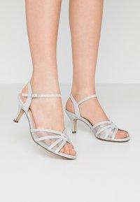 Paradox London Pink - HELICE - Sandaalit nilkkaremmillä - silver - 0