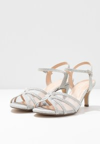 Paradox London Pink - HELICE - Sandaalit nilkkaremmillä - silver - 4