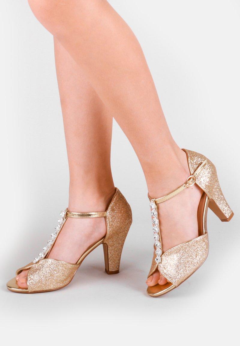 Paradox London Pink - ROSIE - High heeled sandals - off-white