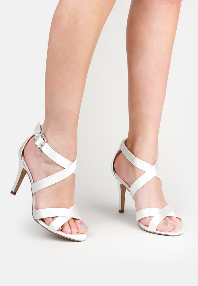 MACPHERSON - High heeled sandals - white