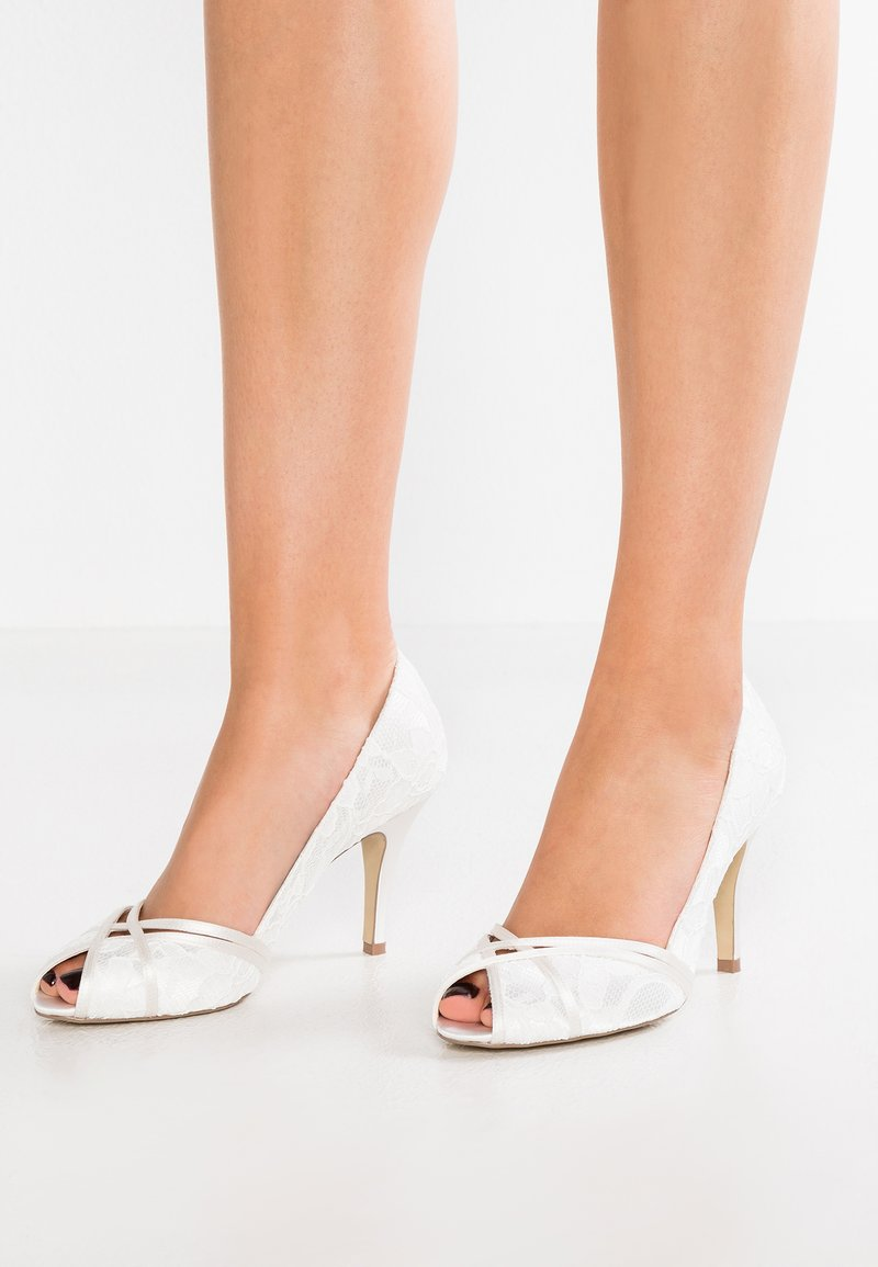 Paradox London Pink - CHERIE - Peep toes - ivory