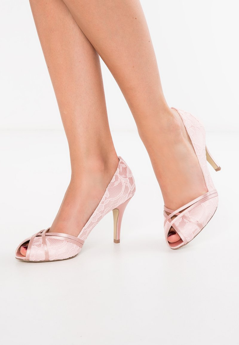 Paradox London Pink - CHERIE - Peeptoes - blush