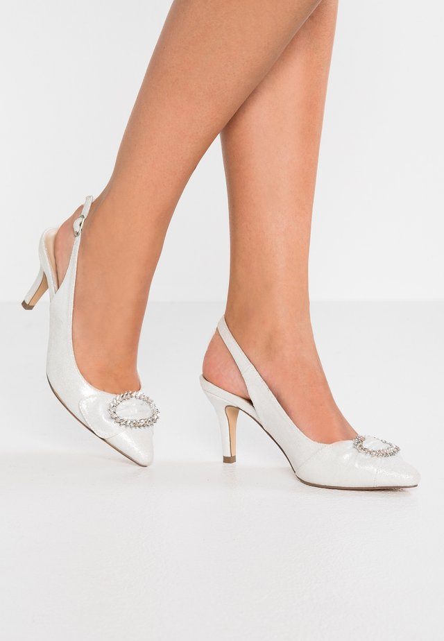 CYRA - Bridal shoes - silver