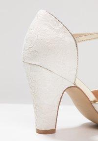 Paradox London Pink - QUENTIN - Peeptoe heels - ivory - 2