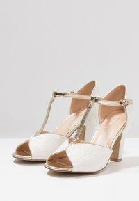 Paradox London Pink - QUENTIN - Peeptoe heels - ivory - 4