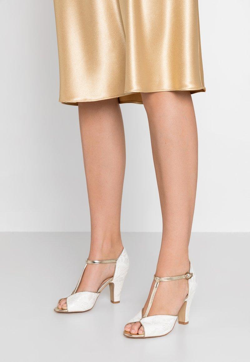 Paradox London Pink - QUENTIN - Peeptoe heels - ivory