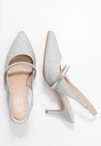 Paradox London Pink - PETUNIA - Classic heels - silver - 3