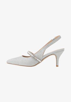 PETUNIA - Classic heels - silver