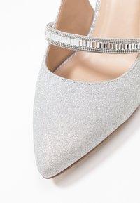Paradox London Pink - PETUNIA - Classic heels - silver - 2