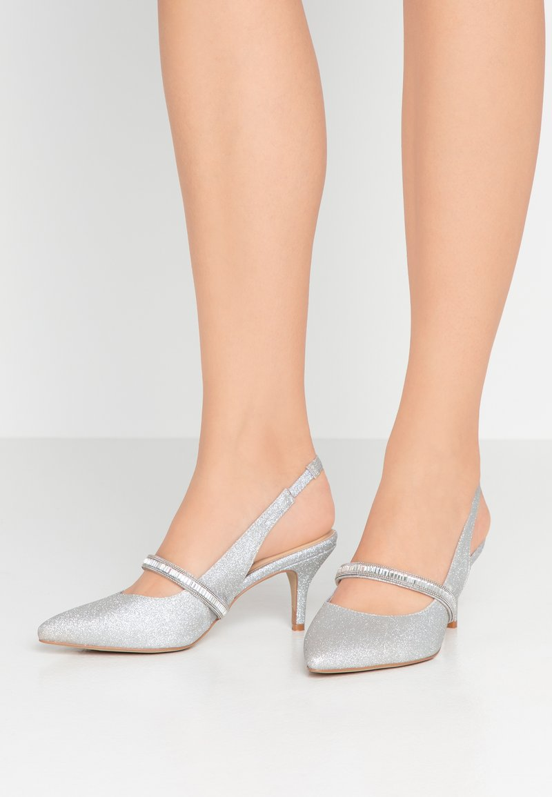 Paradox London Pink - PETUNIA - Classic heels - silver