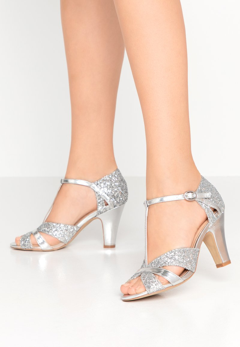Paradox London Pink - REANNE - High heeled sandals - silver