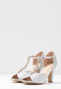 Paradox London Pink - ROSIE - High heeled sandals - silver - 4