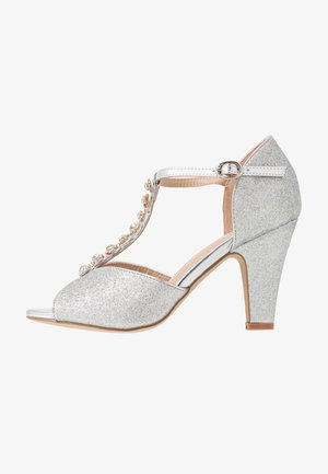 ROSIE - High heeled sandals - silver