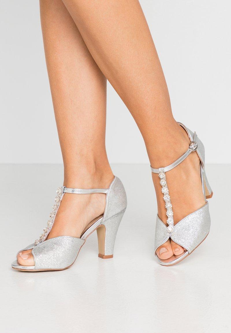 Paradox London Pink - ROSIE - High heeled sandals - silver