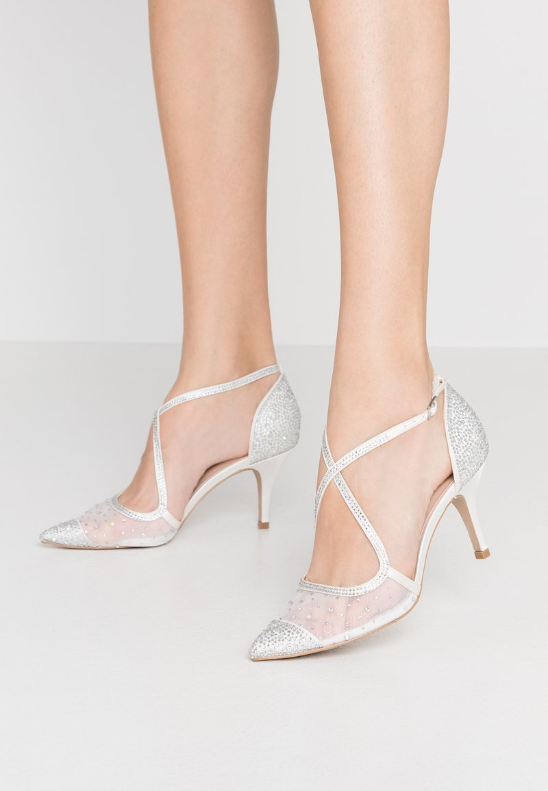 Paradox London Pink - LATISHA - Svatební boty - ivory