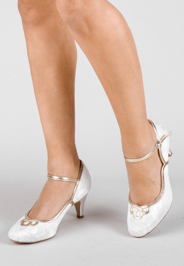 ASHANTI - Classic heels - white