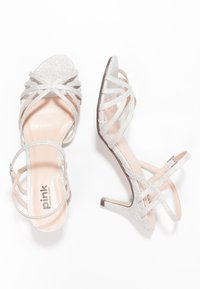 Paradox London Pink - HARPER - Sandály - pale silver - 2