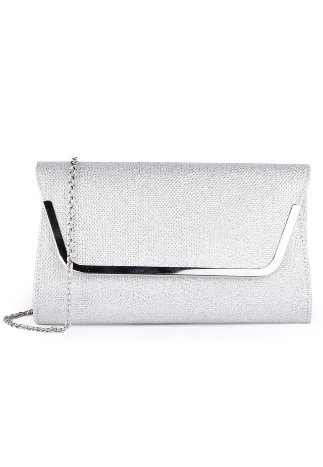 DENISE - Clutch - silver